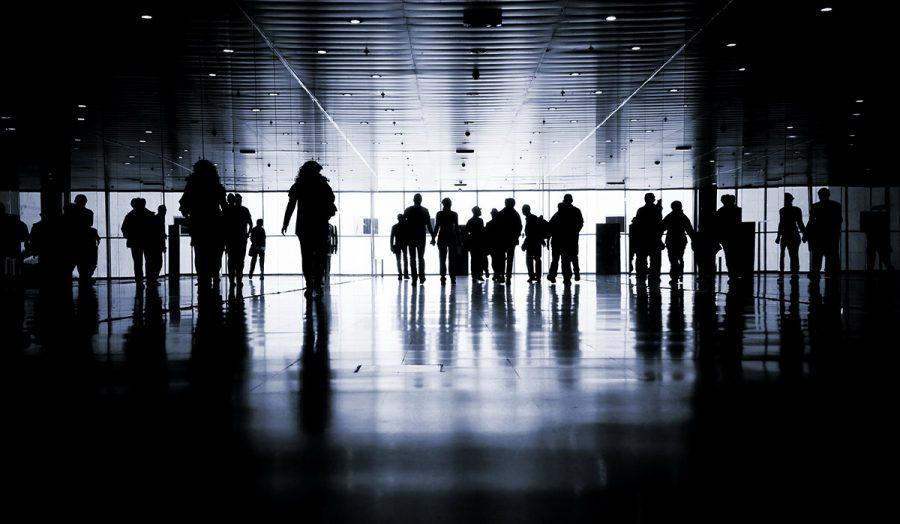 Folksamling. Foto: Menna. Licens: Shutterstock.com, 123214138