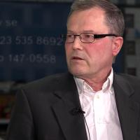 Läkaren Peter Abelin, 5 mars 2020. Foto: SwebbTV.se