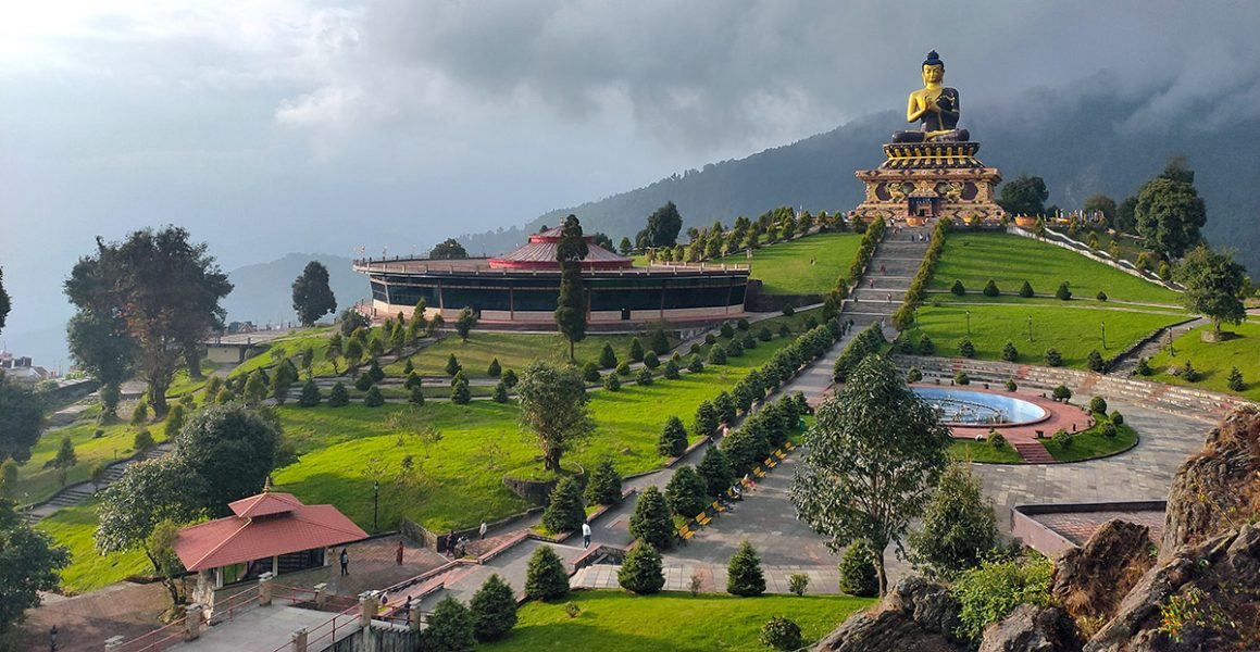 Buddha Park i Ravangla, Sikkim, Indien. Foto: Pulak Bhagawati. Licens: Unsplash.com