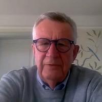 Johan Giesecke, 17 apr 2020.Foto: eget verk via Skype