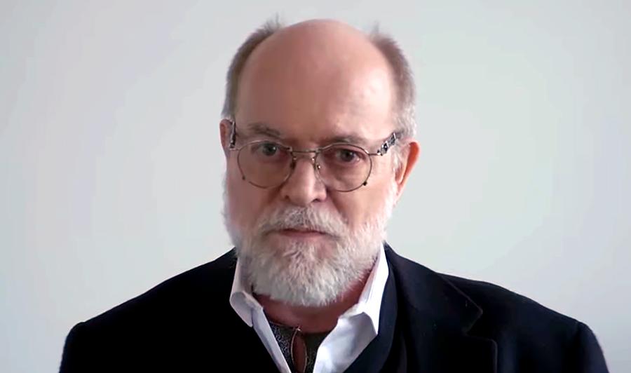 Professor Knut Wittkowski, 3 april 2020. Foto: Journeyman Pictures