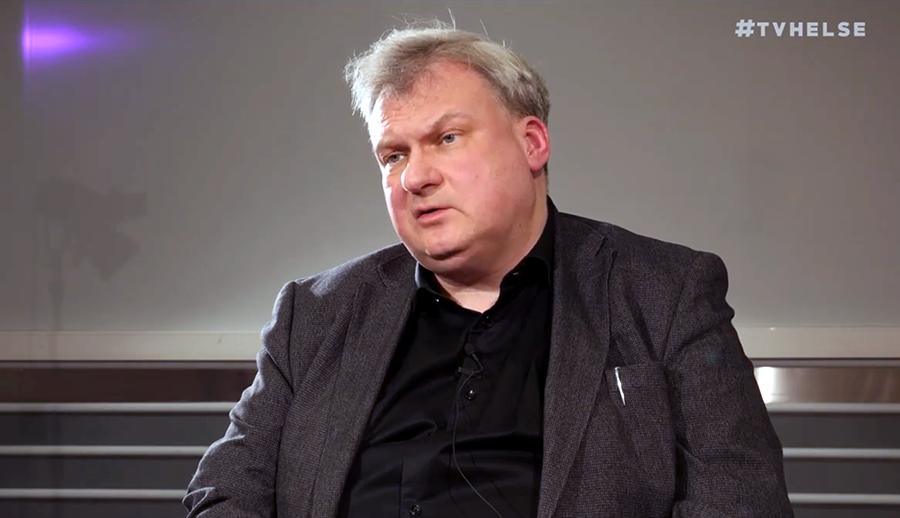 Professor Mikael Björnstedt. Foto: Arnt-Olav Enger, TV Hälsa