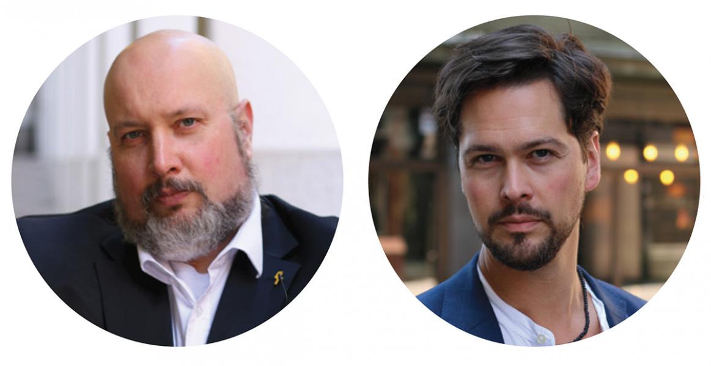 Patrik Oksanen och Henrik Sundbom. Pressfoton: Fri Värld