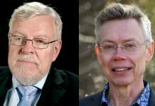 Olle Johansson (Foto: NASMS-A, Mcdowell) och Robert Ferm (foto: Oskar Ferm)