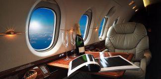Private jet, privatjet. Licens: Shutterstock.com