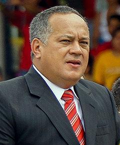 Diosdado Cabello (Venezuela). Foto: Luigino Bracci. Licens: CC BY 2.0, Wikimedia Commons
