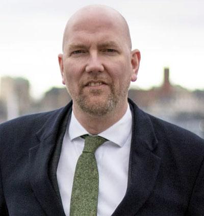 Gustav Hemming, Tillväxt- och skärgårdsregionråd, Region Stockholm. Pressfoto: Centerpartiet