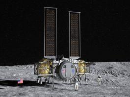 Månlandare från företaget Dynetics. Bild: NASA.gov