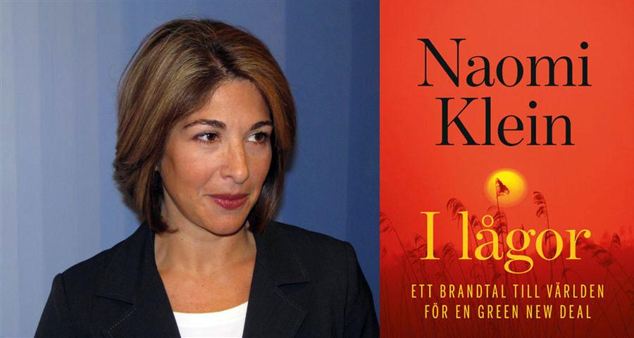 Naomi Klein, 2008. Foto: Mariusz Kubik. Licens: CC BY 3.0, Wikimedia. Montage: NewsVoice