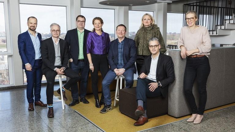 Sveriges Radio, vitmaktledning. Pressfoto: Mattias Ahlm, SR
