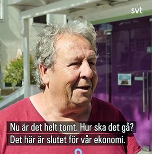Den grekiska turismen. Foto: SVT.se