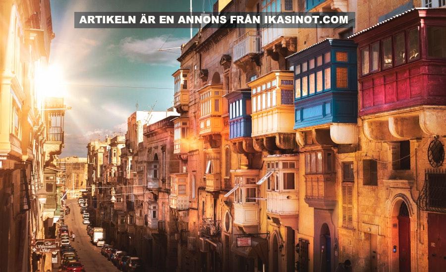 Tjäna pengar på spelbolag, Valetto, Malta. Foto: Zoltan Tasi Licens: Unsplash.com