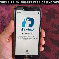 Du kan använda BankID på Casinotopp.se. Foto: Newsvoice.se