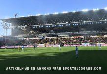 Elfsborg och MFF, 2018 Allsvenskan. Foto: Den Sportglade Skåningen. Licens: CC BY-SA 4.0, Wikimedia Commons