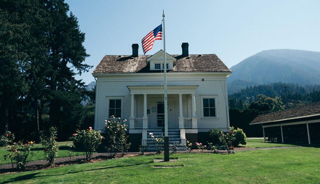 Privat villa på landet i USA. Foto: Ryan Bruce. Licens: Burst.com