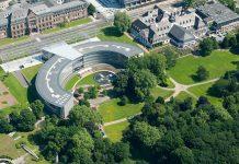 Bayer HQ, Carl Duisberg Park. Pressfoto: Bayer.com