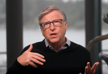 Bill Gates 29 juni 2020. Foto: eget arbete (via TED.com)