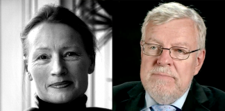 Rachel Santini (private photo) and Olle Johansson (photo: NASMS-A, Mcdowell)
