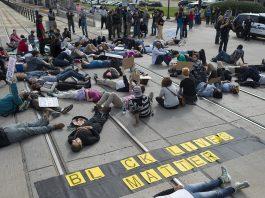 Black Lives Matter-protest i St. Paul, Minnesota. Foto: Fibonacci Blue