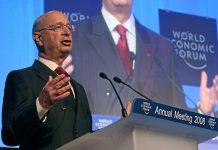 Klaus Schwab, grundare av och ordförande för World Economic Forum. Foto: Remy Steinegger.