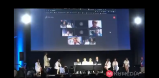 Läkarkonferens i Madrid, 25 juli 2020. Foto: Nu Media