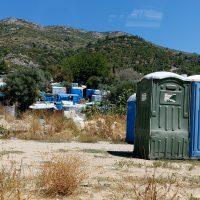 Vathy-lägret, Samos, 27 aug 2020. Foto: NewsVoice