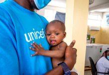 UNICEF varnar för hungersnöd pga coronarestriktioner 2020. Foto: UNICEF
