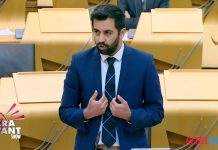 Justitieminister Humza-Yousaf, 2020. Pressfoto: Skottlands Regering