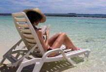 Solning på Maldiverna. Foto:Filippo Piemonte. Licens: Pixabay.com