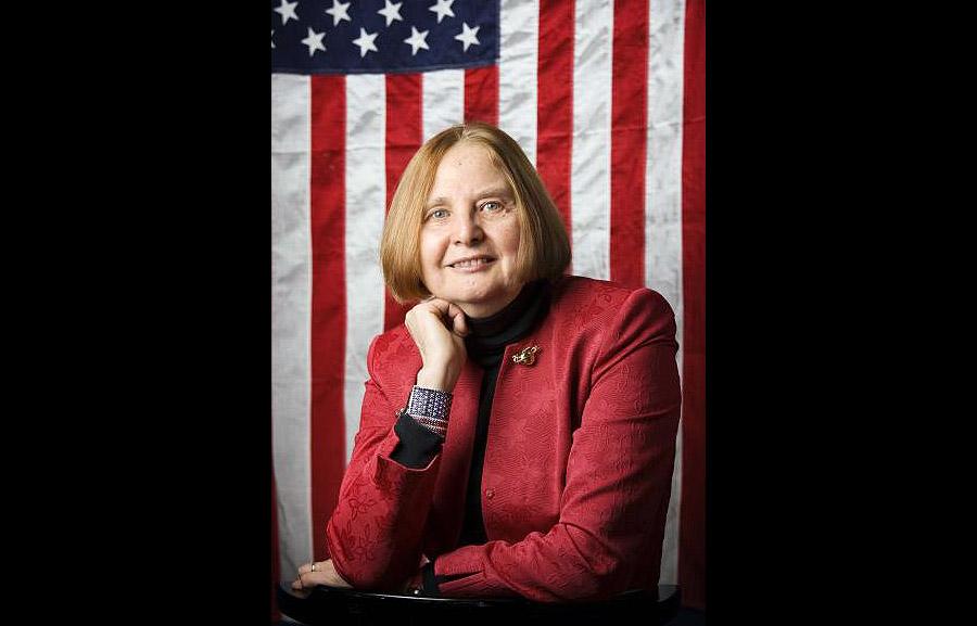Barbara Bergström, grundare av Internationella Engelska Skolan. Pressfoto: Engelska.se