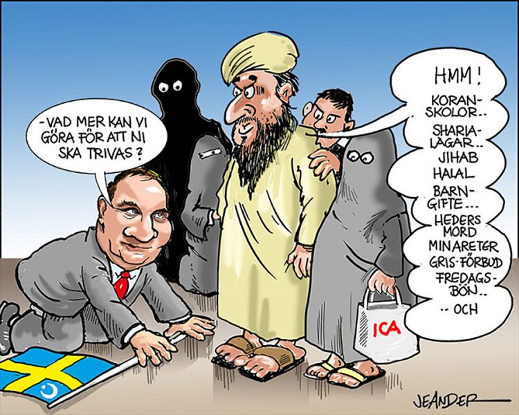 """Den svenska flatheten"". Bild: Jeanders.com"