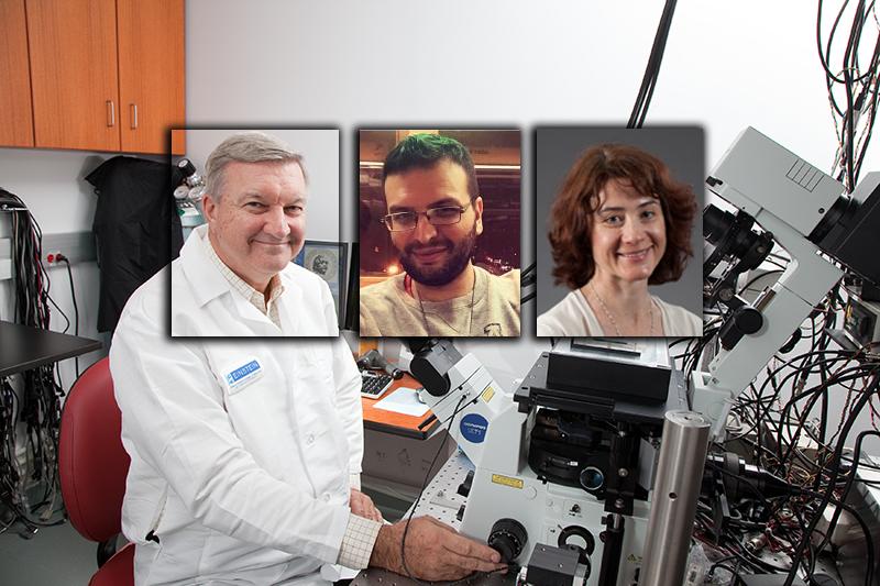 John S. Condeelis, George S. Karagiannis och Maja H. Oktay - Foton: Einstein.yu.edu