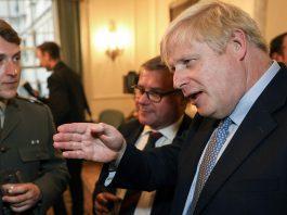 Boris Johnson, 2019.