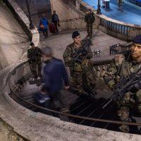 Operation Sentinelle, 2016, France. Press photo: Defense.gouv.fr