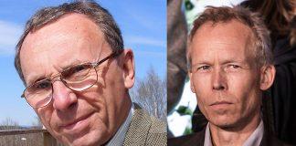 Tege Tornvall (privat foto) och Johan Rockström (foto: Frankie Fouganthin, licens: Wikimedia, CC BY-SA 4.0): Montage: NewsVoice