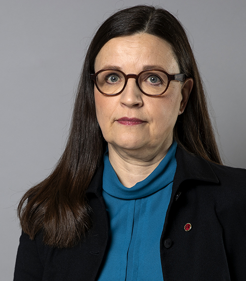 Statsråd Anna Ekström