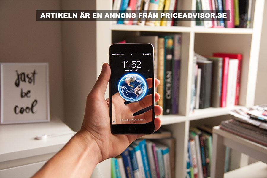 Smartphone till bästa pris. Foto: Daniel Frank. Licens: Unsplash.com
