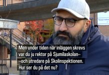 Hamid Zafar, 15 okt 2020. Foto: SVT Play