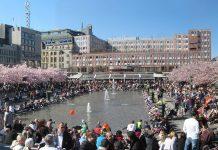 Kungsträdgården. Foto: Larske