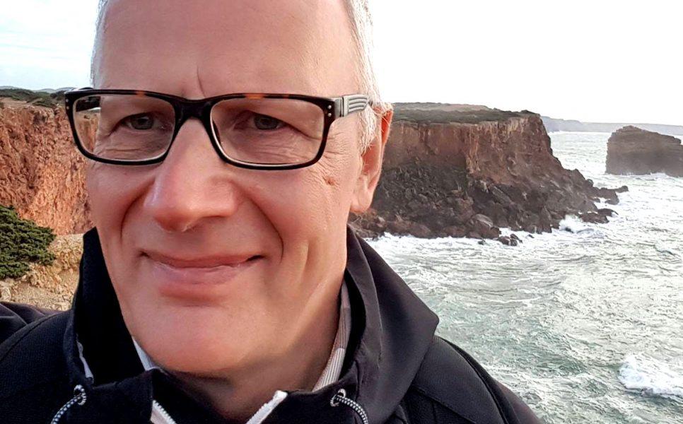 Magnus Thisner: Skrota välfärdssystemet. Foto: selfie