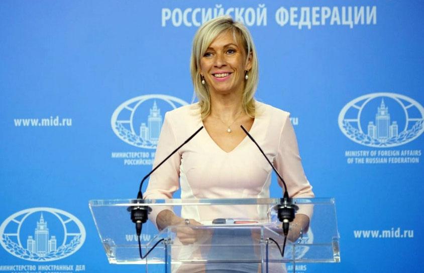 Maria Zakharova. Foto: RT.com