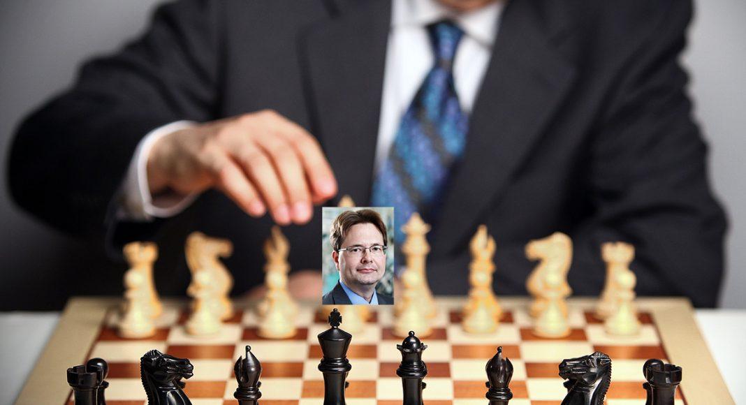Joakim Brandberg (pressfoto: Jeanette Hägglund) en spelare i schacket.