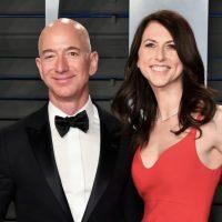 Jeff Bezos och MacKenzie Scott. Bild: YouTube