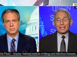 Dr Anthony Fauci, 15 nov 2020. Foto: CNN.com