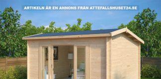Attefallshus. Foto: Attefallshuset24