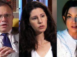 Bulletin startas av bla Thomas Gür (foto: Ledarsidorna), Paulina Neuding (foto: Axess TV) och Hanna Dahlman (privat foto). Kollage: NewsVoice