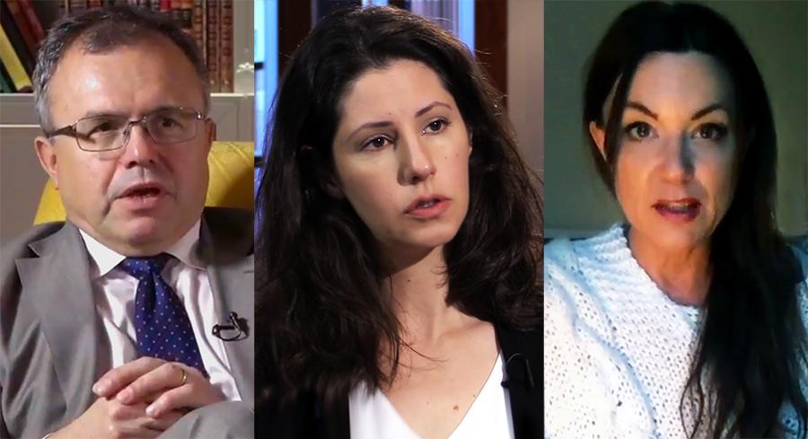 Tidningen Bulletin startas av bla Thomas Gür (foto: Ledarsidorna), Paulina Neuding (foto: Axess TV) och Hanna Dahlman (privat foto). Kollage: NewsVoice