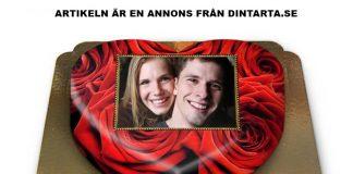 Fototårta. Pressfoto: Dintarta.se