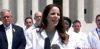 Dr Simone Gold. Foto: America's Frontline Doctors