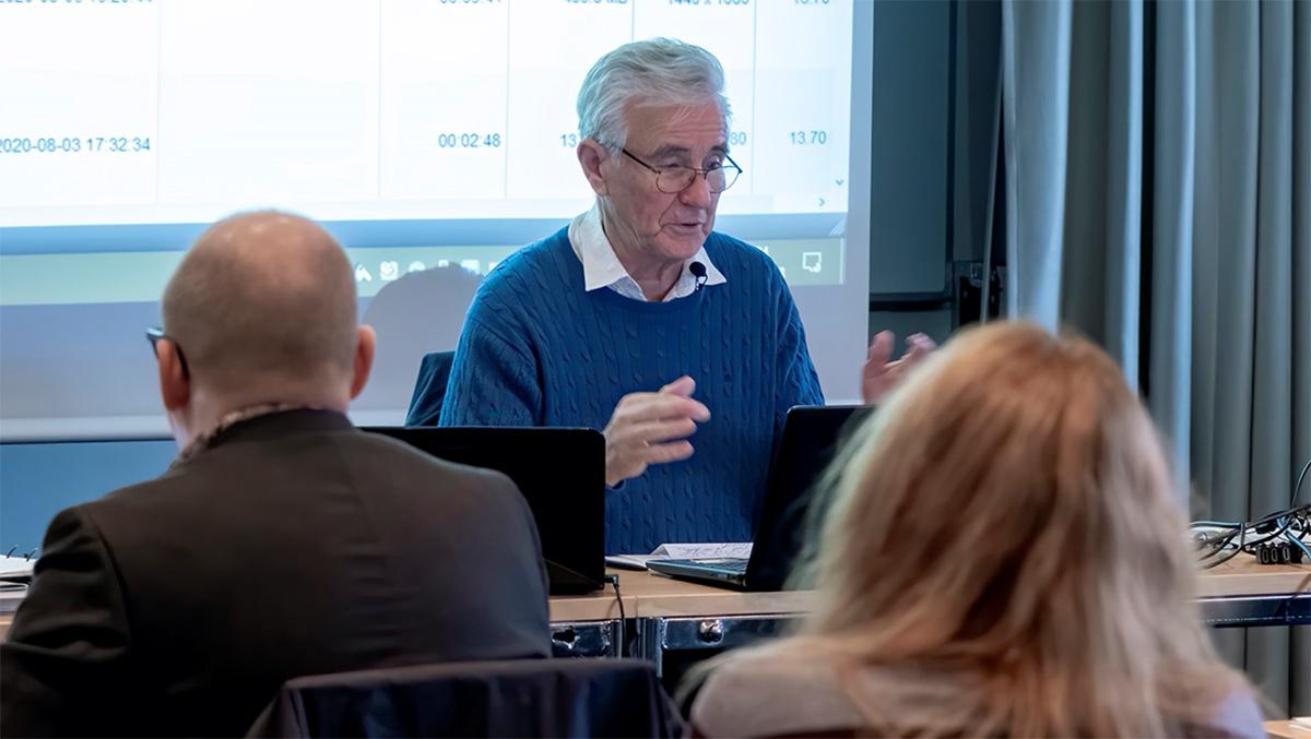 Gunnar Jansson (Nakh.net). Pressfoto: Karl-Göran Fougstedt